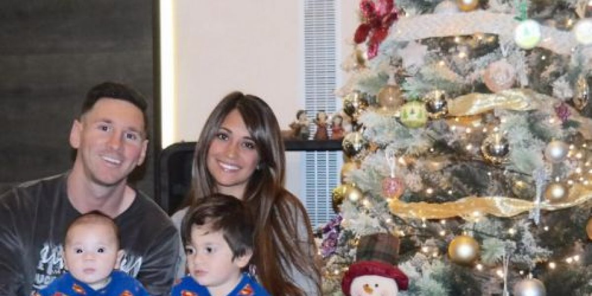 Lionel Messi celebra la Navidad y presenta a su segundo hijo