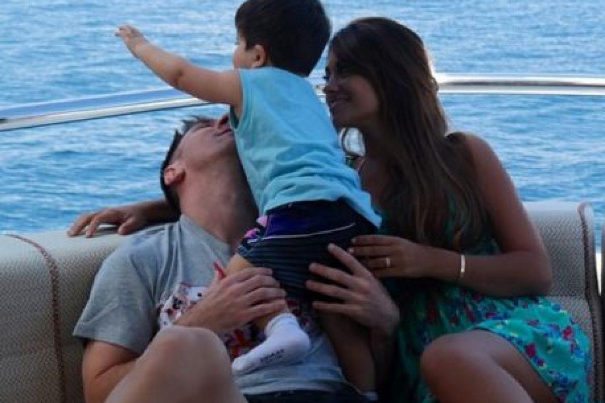 El segundo hijo de la pareja llegó el 11 de septiembre de este año. Foto:Vía instagram.com/antorocuzzo88