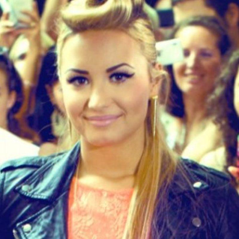 Demi Lovato las tiene muy tatuadas. Foto:vía Getty Images
