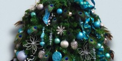 Fotos: Esta es la nueva moda en árboles navideños que podrán