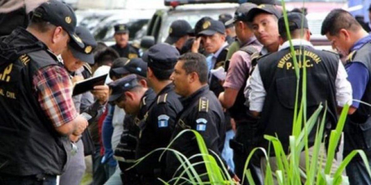 Más de 400 agentes de la PNC fueron capturados durante 2015
