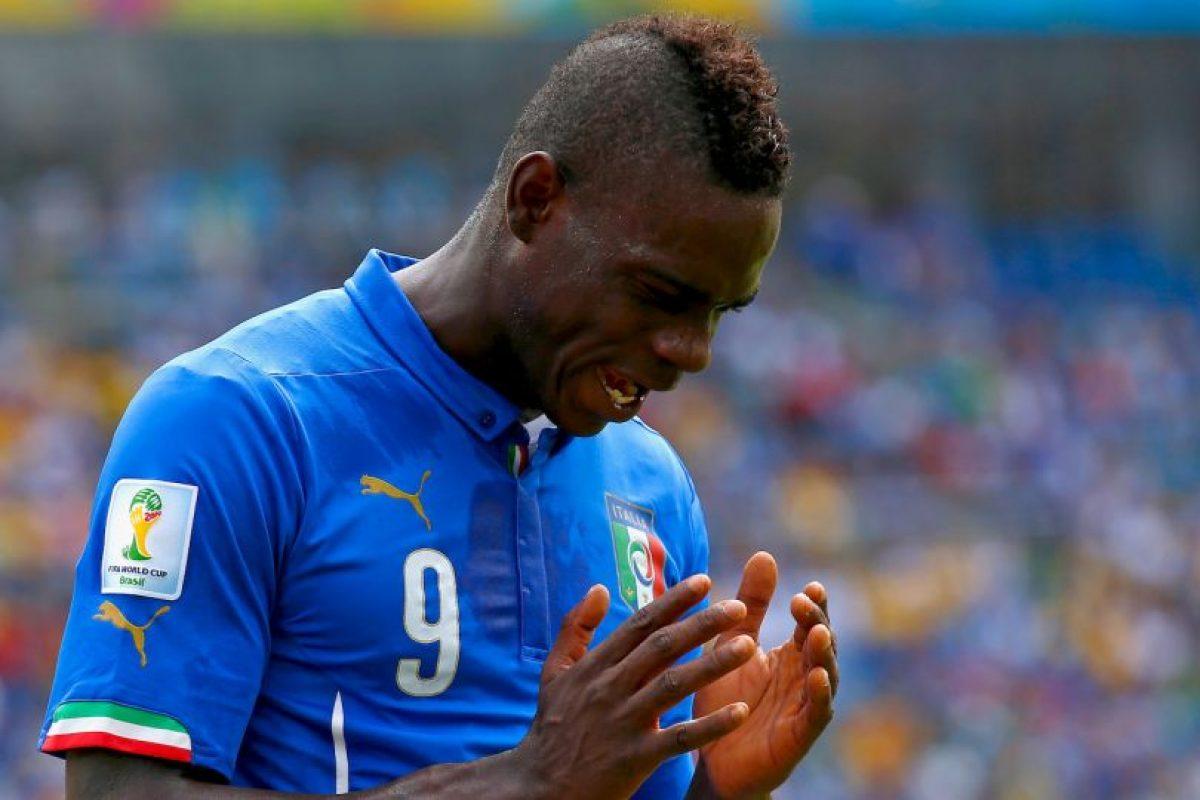 """Con los """"Azurri"""" disputó la Eurocopa de 2012, la Copa FIFA Confederaciones 2013 y el Mundial de Brasil 2014. Foto:Getty Images"""