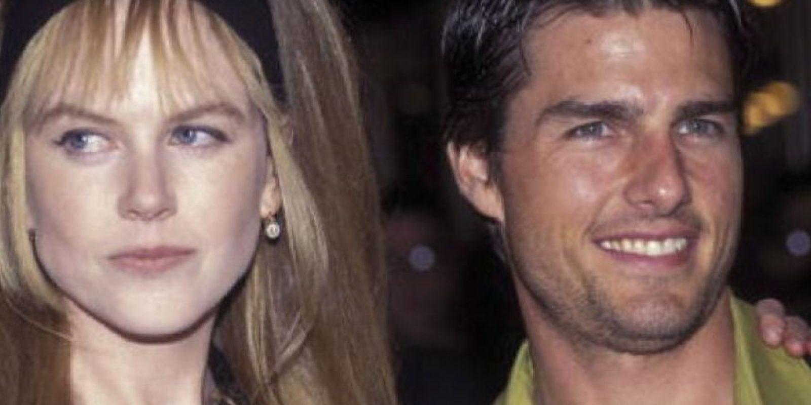 Nicole Kidman duró casada con Tom Cruise 11 años. Foto:vía Getty Images
