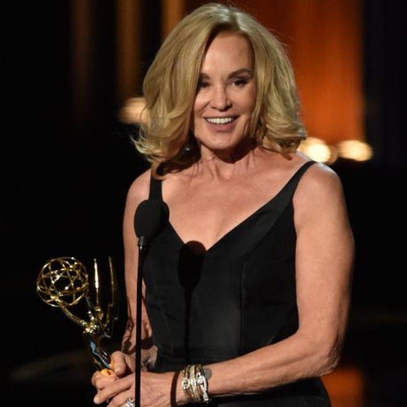"""Jessica Lange tiene 66 años y sigue viéndose fabulosa. Protagoniza la serie """"American Horror Story"""". Foto:vía Getty Images"""