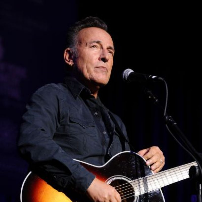 Bruce Springsteen tiene 66 años y sigue viéndose así. Foto:vía Getty Images