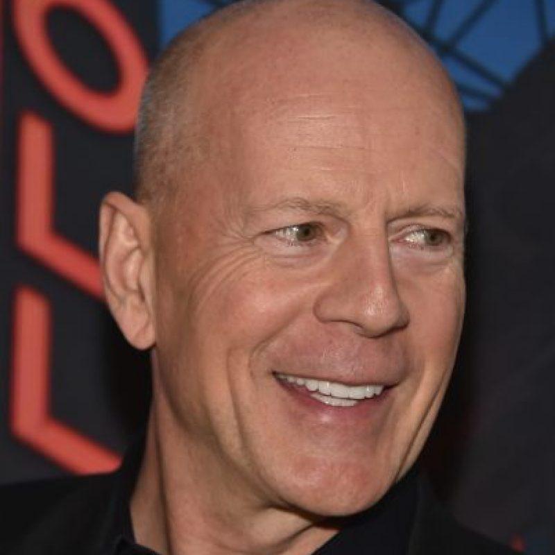 Bruce Willis tiene 60 años y se sigue viendo irresistible. Foto:vía Getty Images