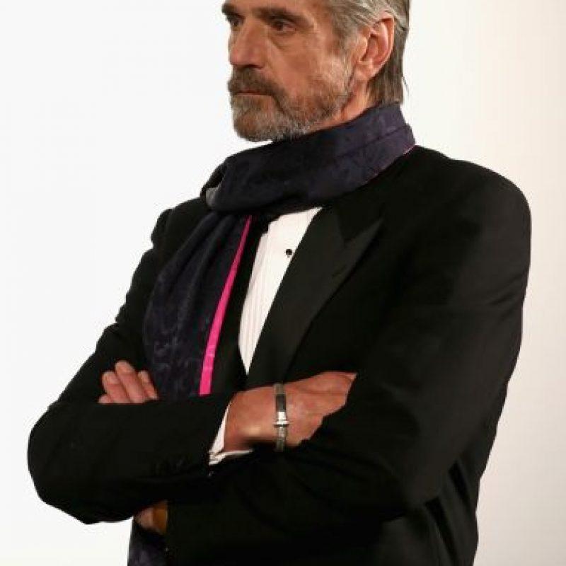 Jeremy Irons, elegante y guapo a sus 67 años. Foto:vía Getty Images