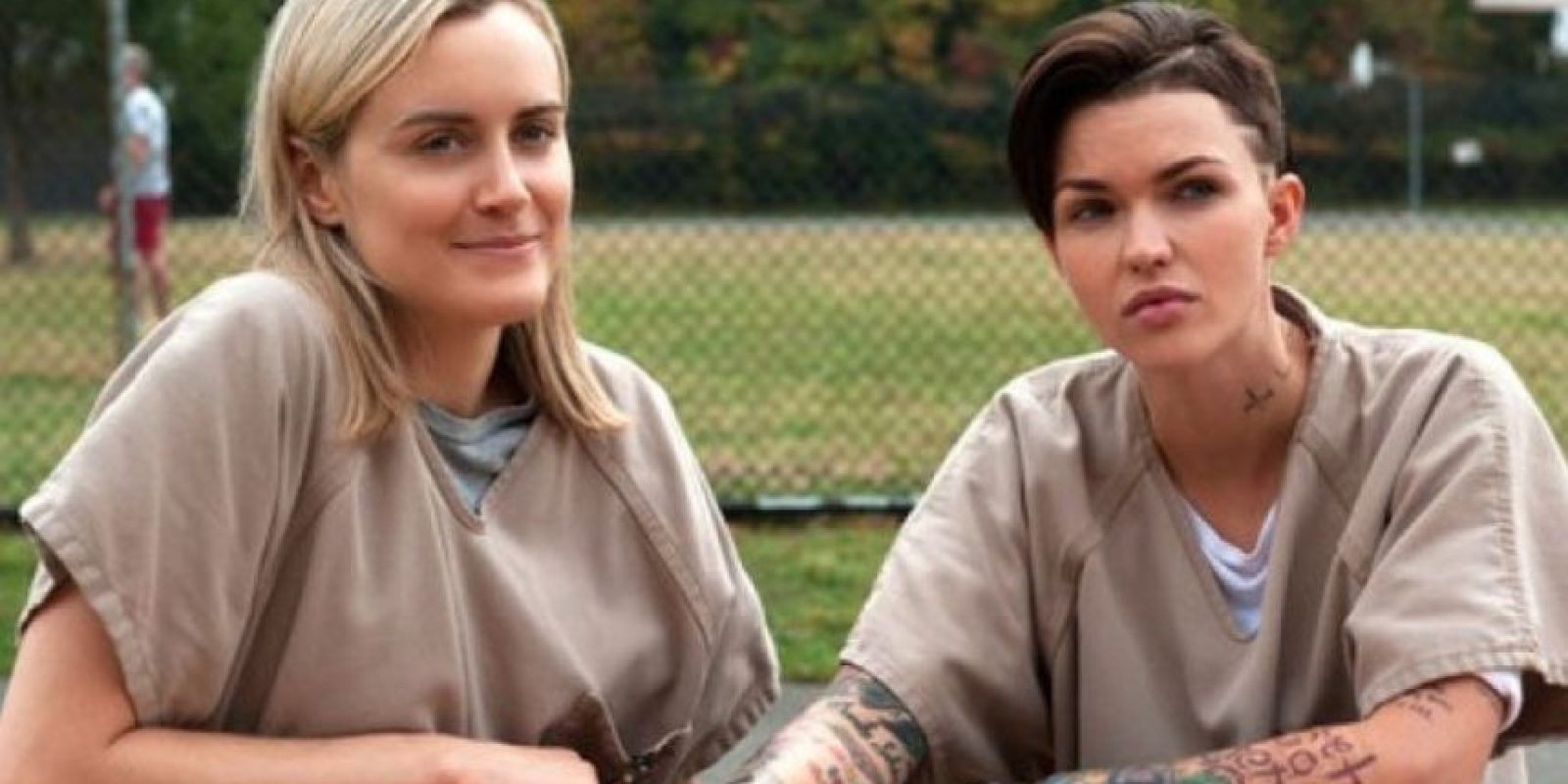 """""""Stella Carlin"""" y """"Piper Chapman"""" Foto:vía Netflix"""