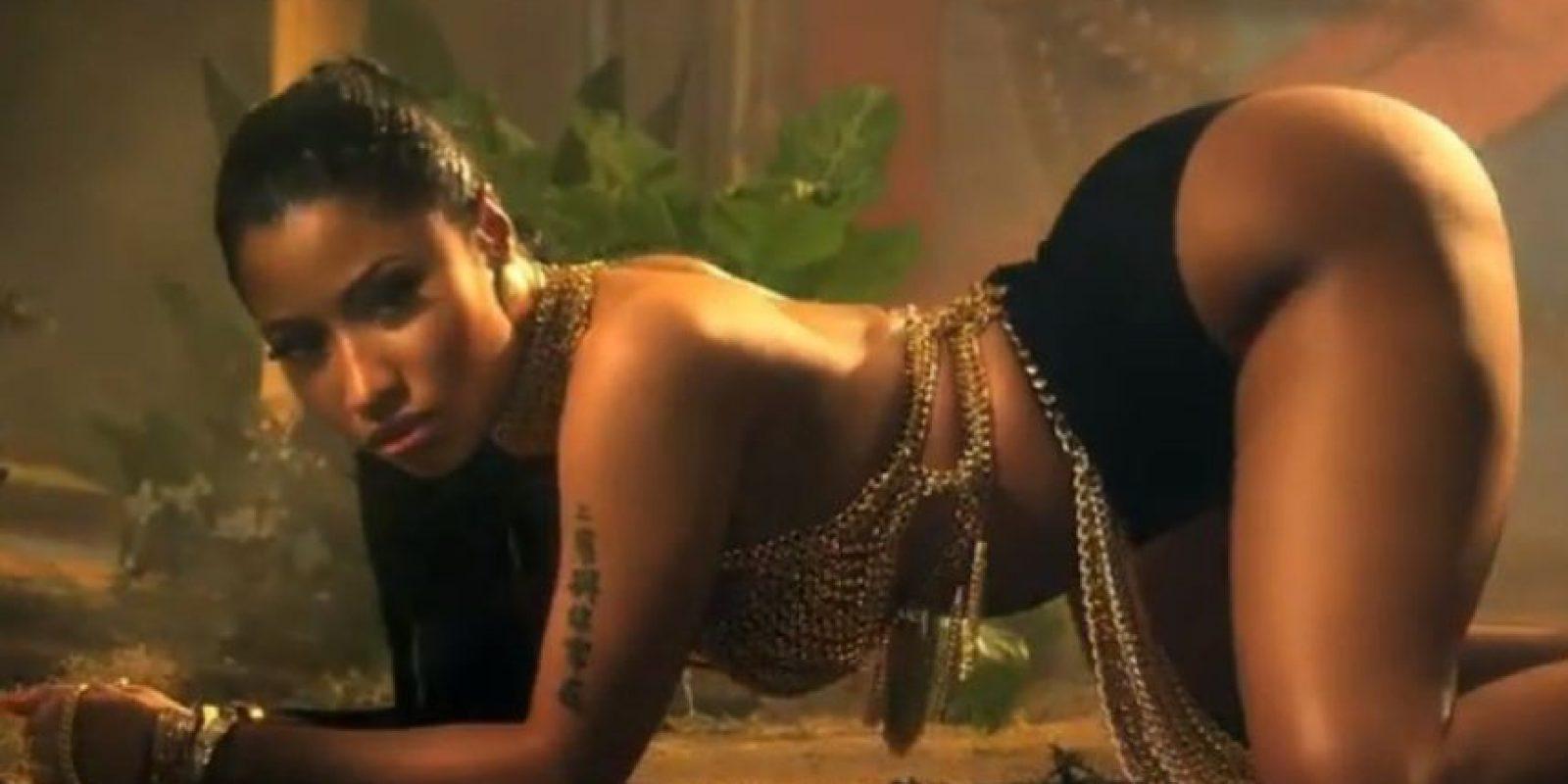 También por el twerking de Minaj. Foto:vía VEVO/Nicki Minaj