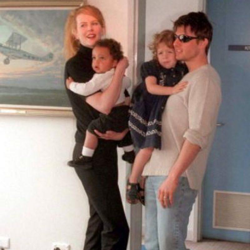 Adoptó a dos hijos a los que ni ve ya: Isabella y Connor. Foto:vía Getty Images