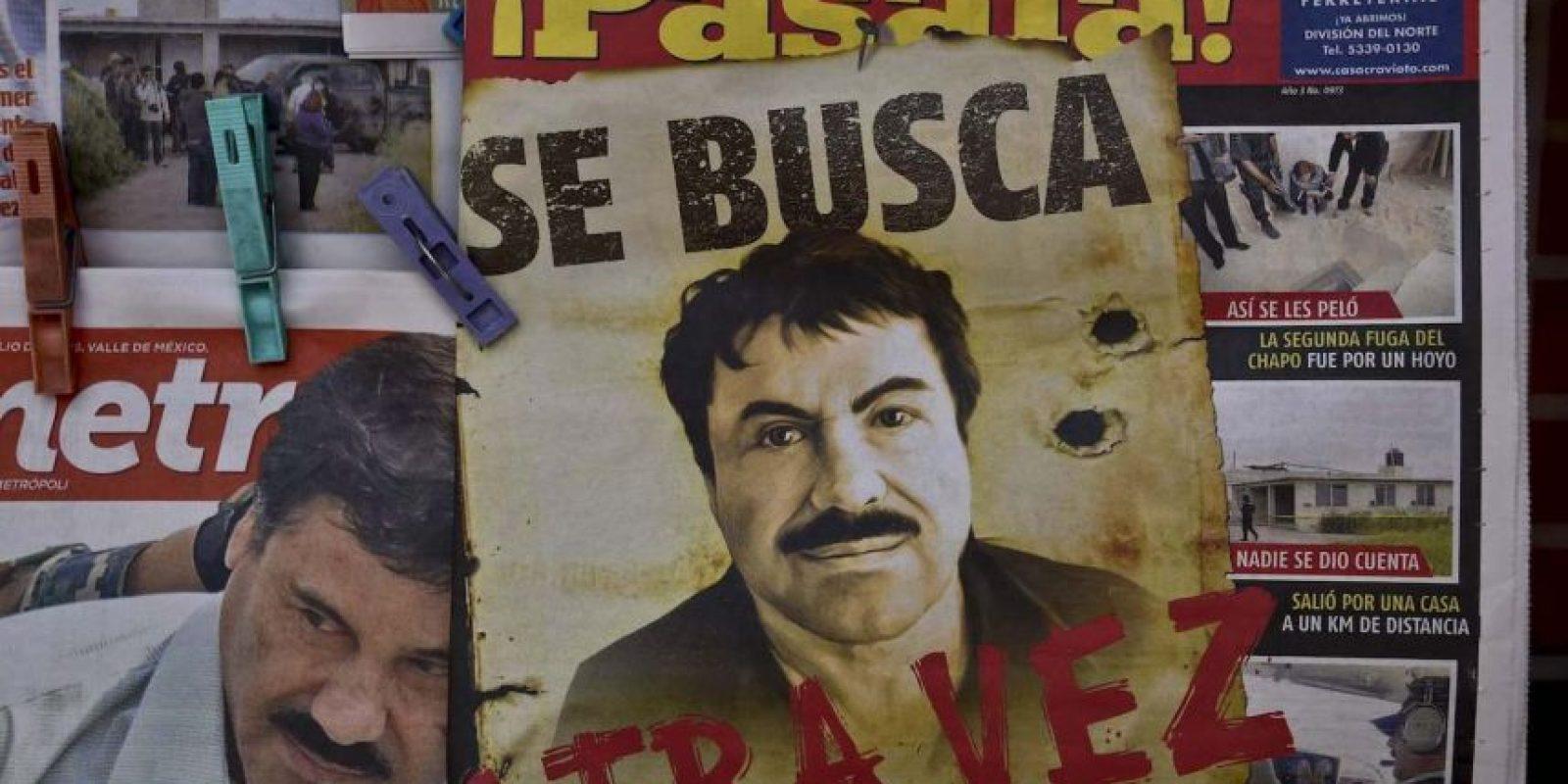 1. En 2001 también se escapó. Foto:AFP