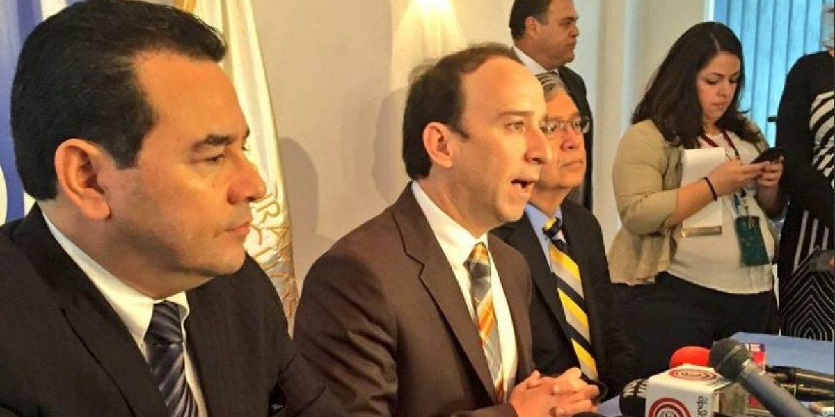 Por esta razón, Jimmy Morales dará a conocer su gabinete hasta el 14 de enero