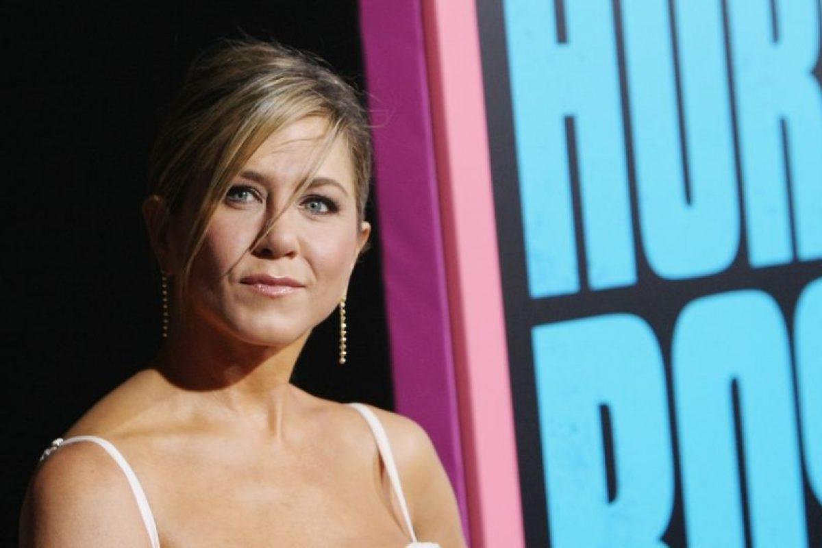 Ahora Aniston está casada con el actor Justin Theorux. Foto:Getty Images