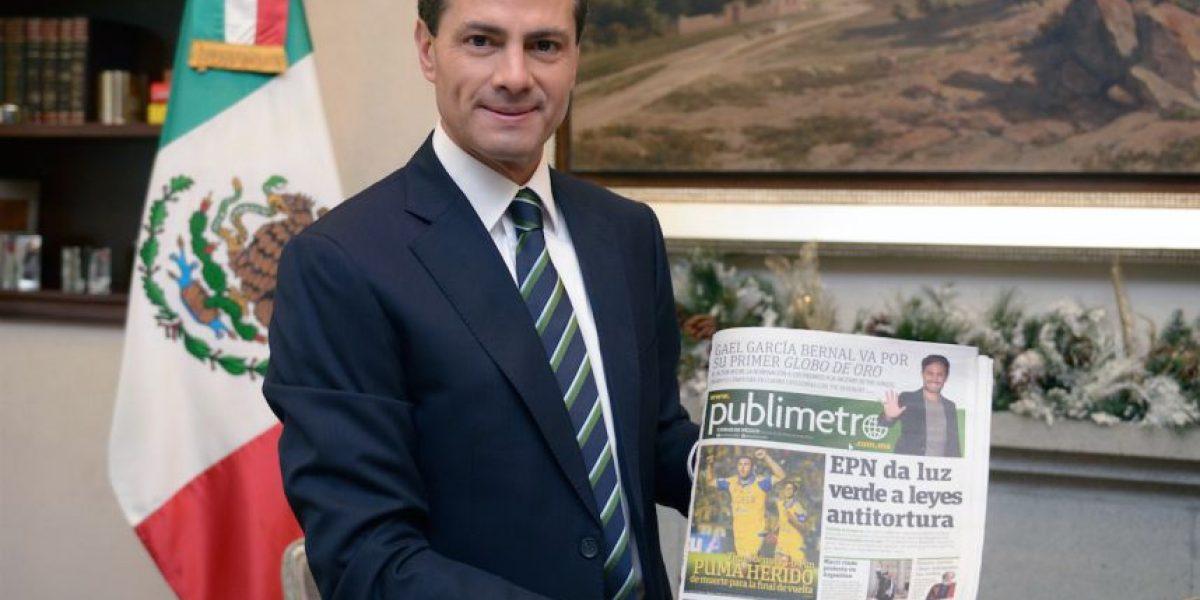 """Enrique Peña Nieto: """"Los gobiernos abiertos son la nueva frontera de la democracia"""""""
