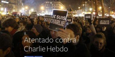 8- Atentado contra Charlie Hebdo. Foto:vía Facebook.com