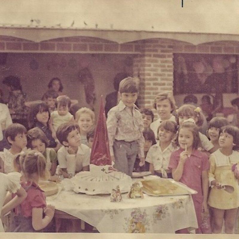 Alejandro Fernández a los 6 años Foto:Instagram/alexoficial