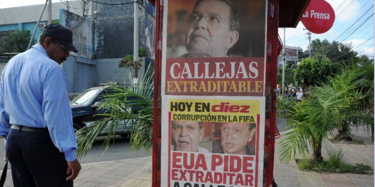 Expresidente hondureño se entrega ¿Y Brayan Jiménez?