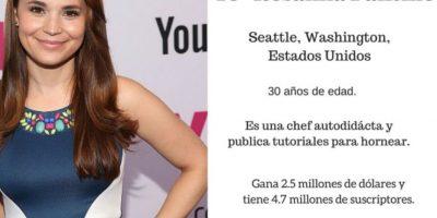 10- Rosanna Pansino: $2.5 millones de dólares. Foto:Especial / Getty Images