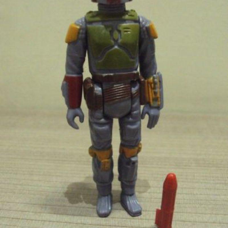 6- BOBA FETT CON COHETE. Foto:vía ebay.com