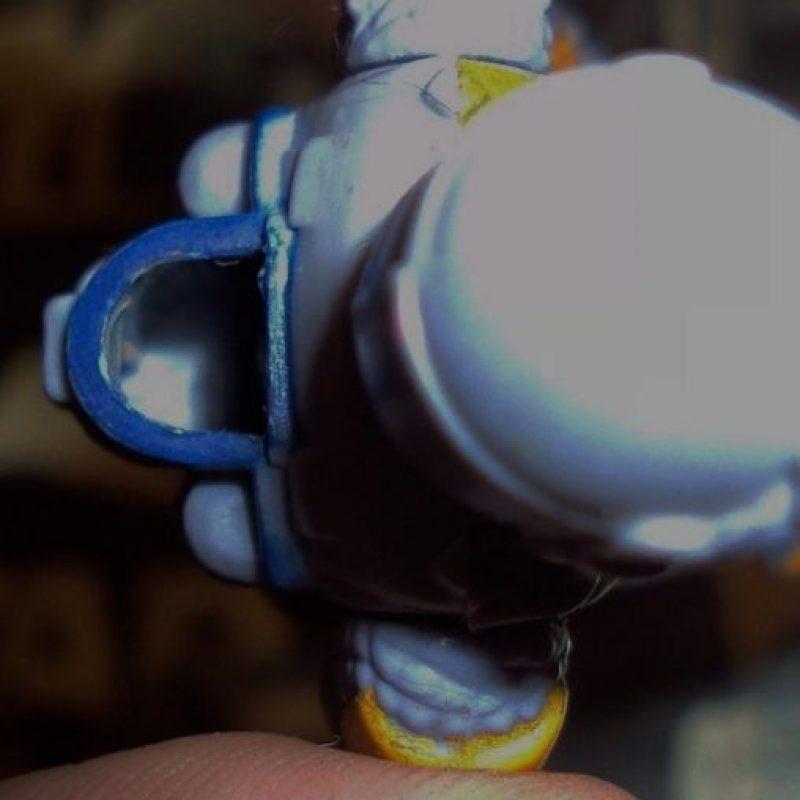 Tanto el cohete como el arma de fuego se pueden remover. Foto:vía ebay.com