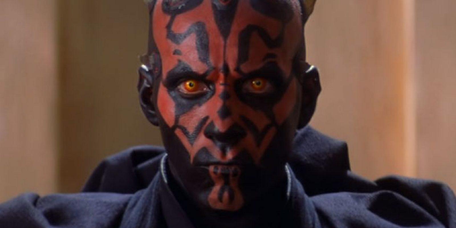 """""""Darth Maul"""" fue otro de los villanos más impactantes de """"Star Wars"""". Foto:vía 20th Century Fox"""