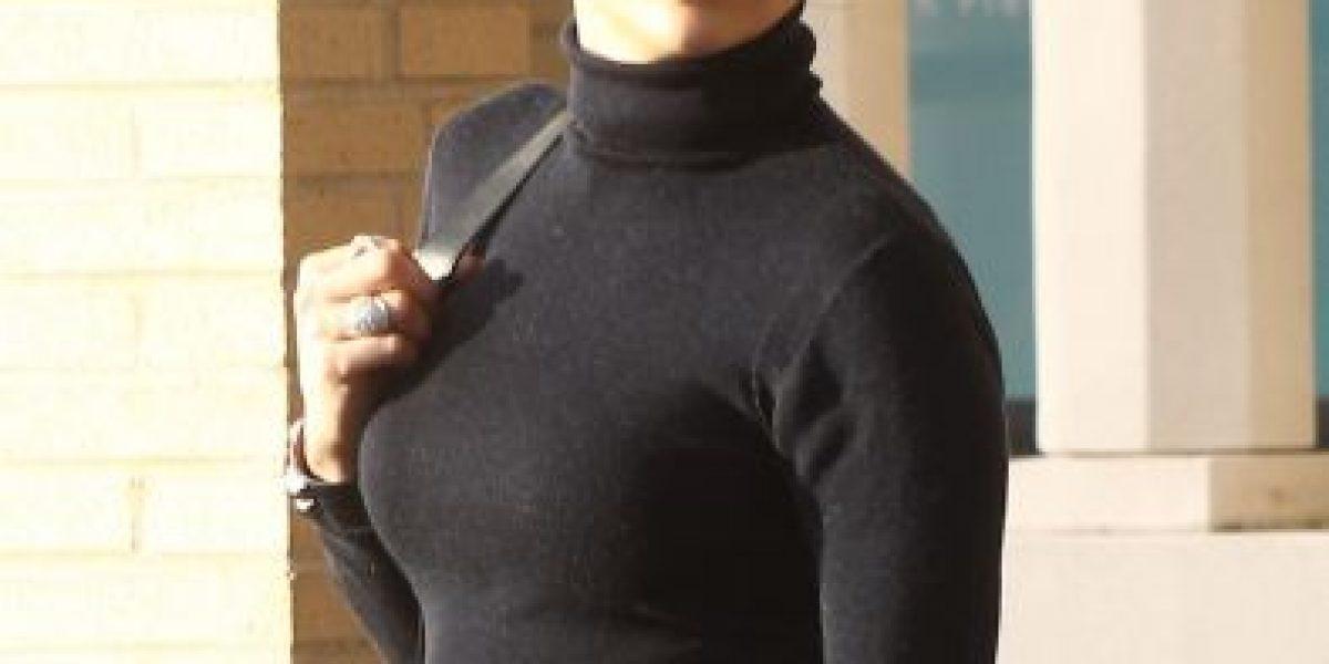 Jennifer López presume su figura y sus transparencias en Los Ángeles
