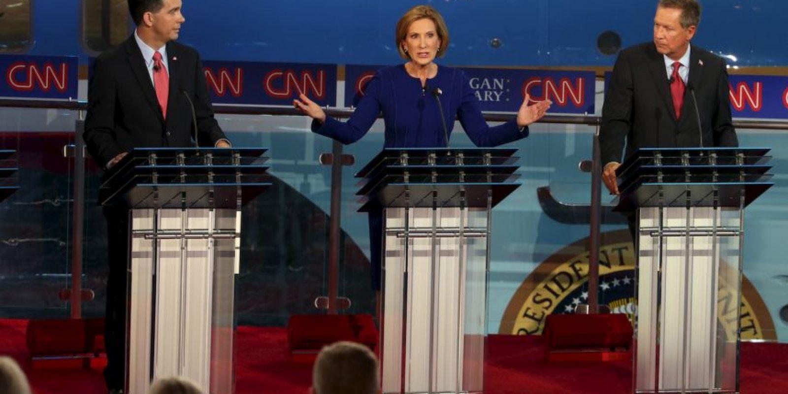 6. Mientras, Carly Fiorina tuvo un 5%. Foto:Getty Images
