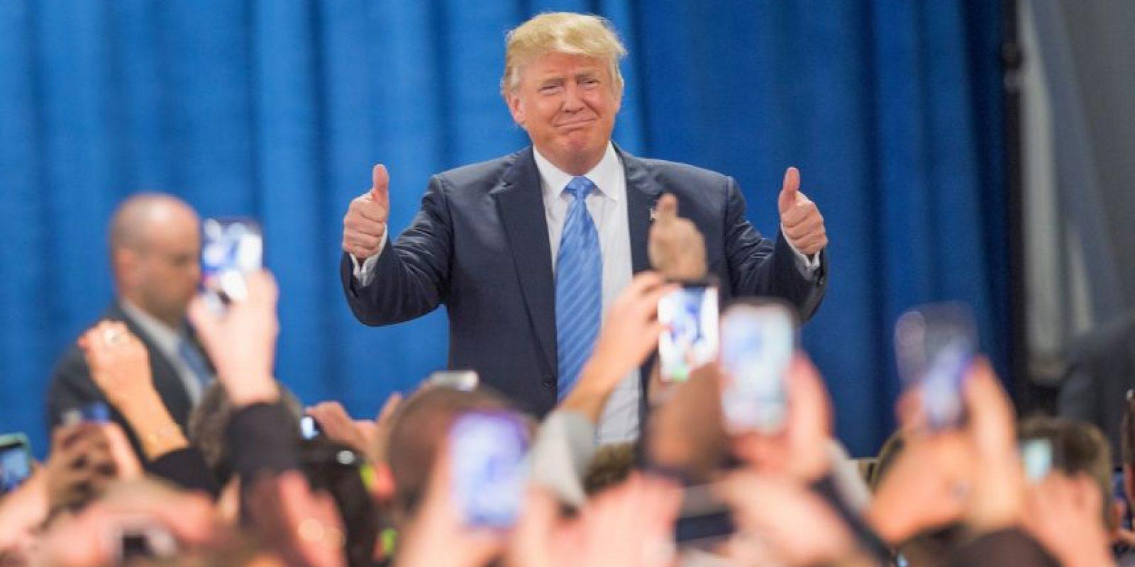 El martes 15 de diciembre Trump se enfrentará rivales en lo que será el último debate del Partido Republicano. Foto:Getty Images