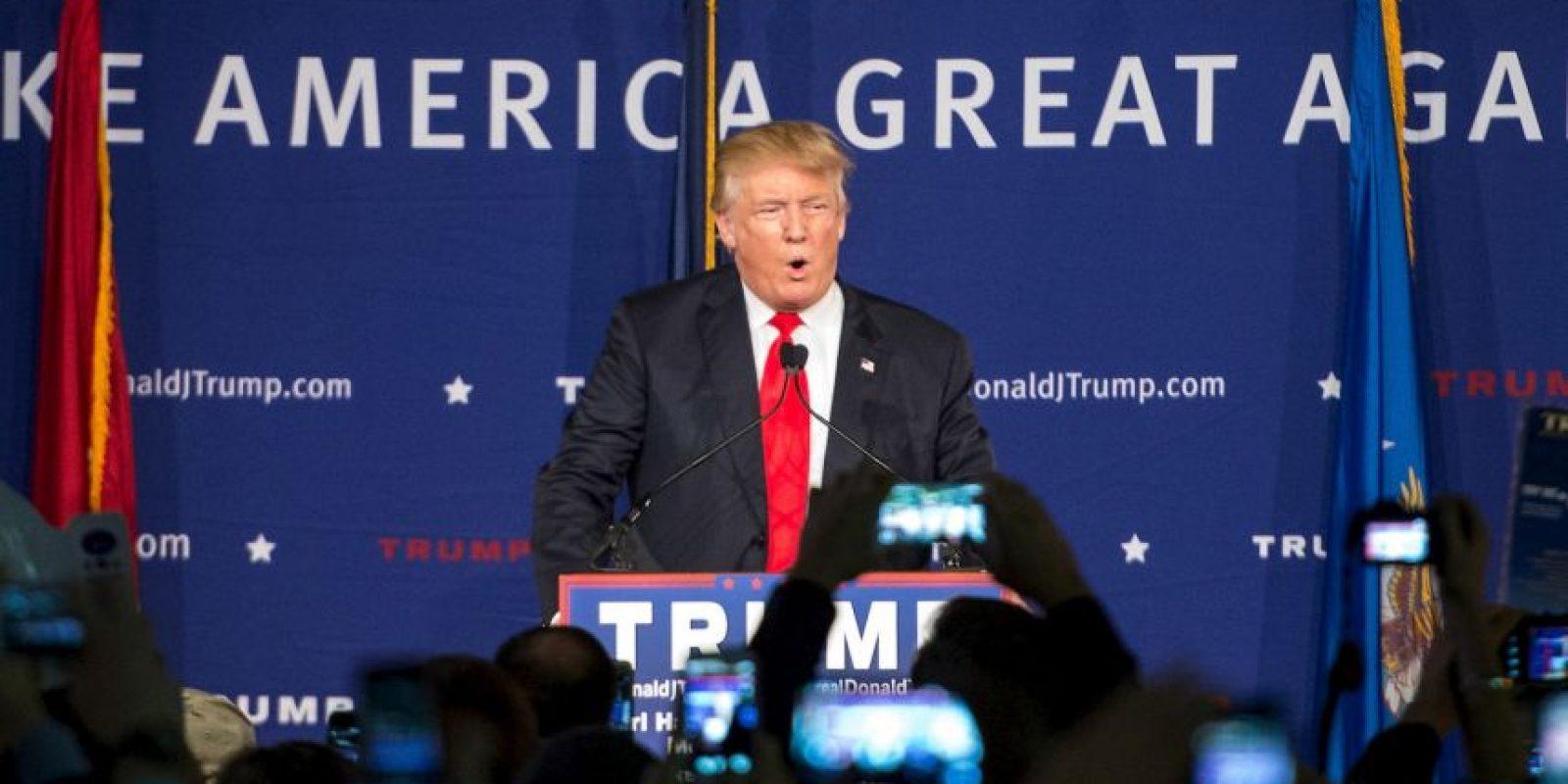 La Casa Blanca descalificó a Trump como candidato Foto:Getty Images