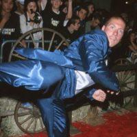 Experto en artes marciales, sobre todo en Kung Fu. Foto:vía Getty Images