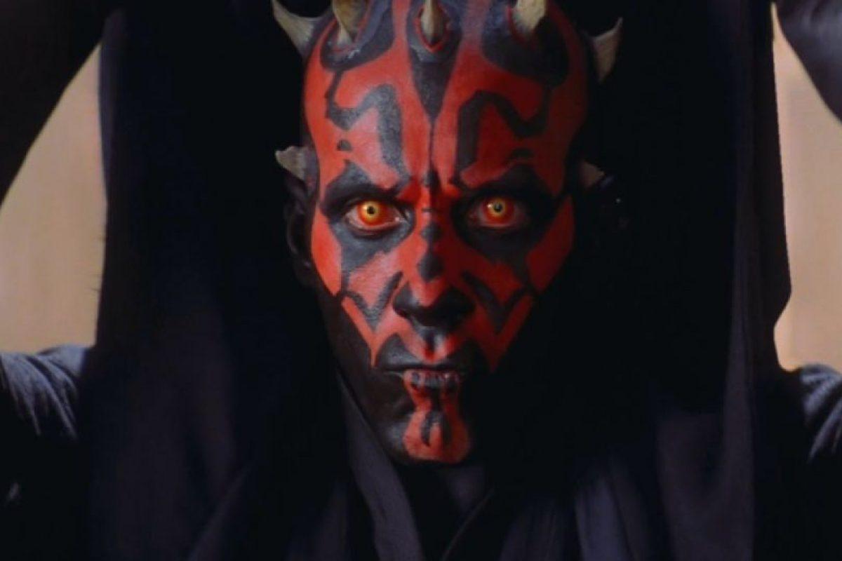 Y tenía como contraparte a Qui Gon Jinn, interpretado por Liam Neeson y a Obi Wan Kenobi, interpretado por Ewan McGregor. Foto:vía 20th Century Fox