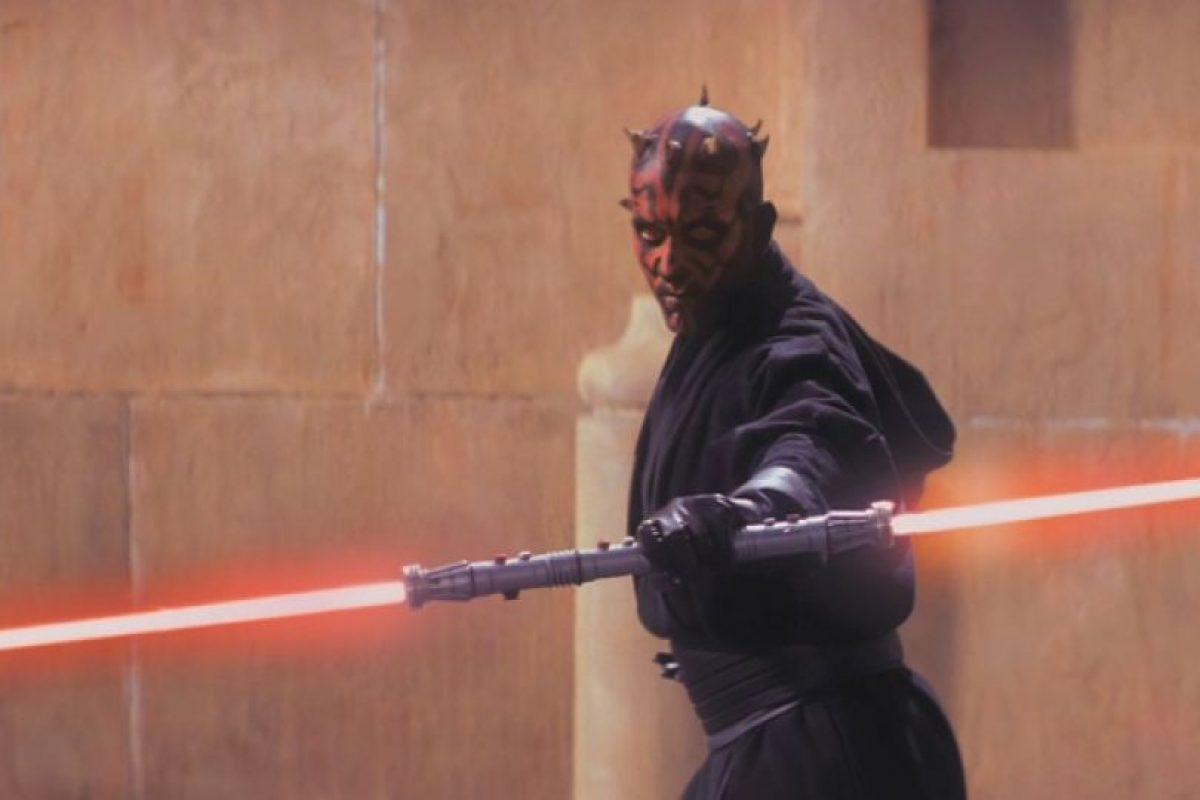 También era conocido por su sable con dos espadas. Foto:vía 20th Century Fox