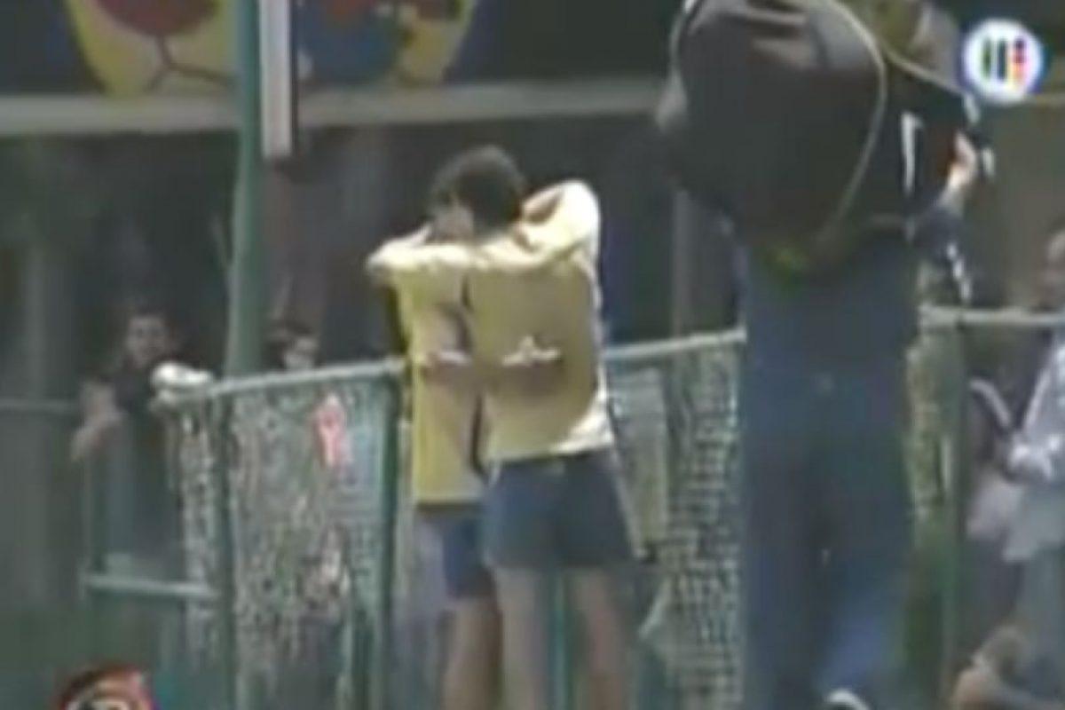 10. Germán Villa y Salvador Cabañas: Foto:YouTube