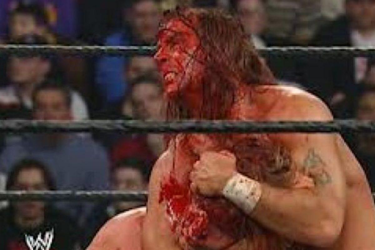 Shawn Michaels vs Triple H, en Royal Rumble 2004. Hubo un tiempo en el que los eternos amigos tuvieron sus rencillas Foto:WWE