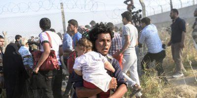 Sin embargo, hoy la canciller alemana Angela Merkel anunció que reducirá la cifra de refugiados que admitirá. Foto:AFP
