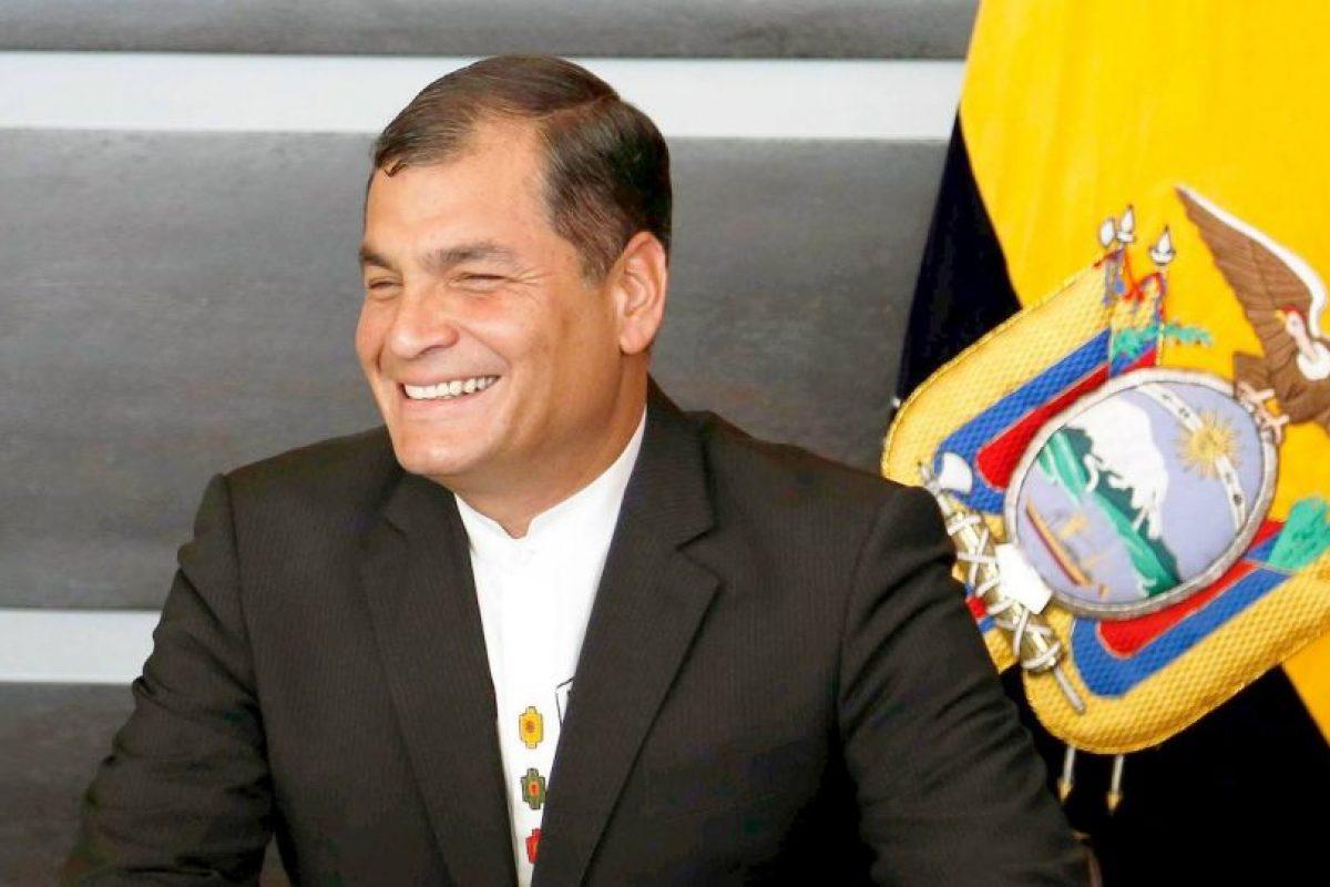 Rafael Correa, 2015 Foto:Facebook.com/MashiRafael