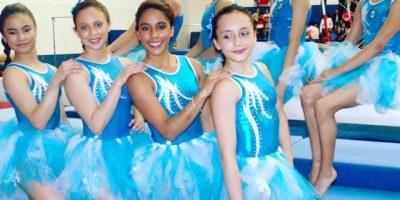 Selección de Gimnasia de Guatemala presenta bella coreografía navideña