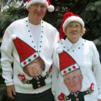 Peores suéteres que podrían ver esta Navidad Foto:MyUglyChristmasSweater