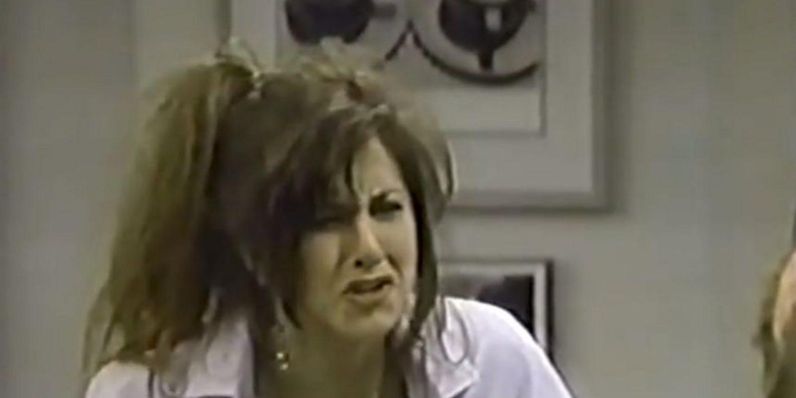 Aniston inició su carrera en la década de los años 80. Foto:vía youtube.com