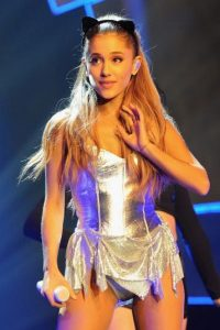 Sin embargo, Ariana Grande logró destacar por encima de Justice. Foto:Getty Images