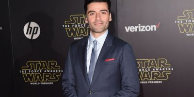 "El guatemalteco Óscar Isaac asiste al gran estreno de ""Star Wars: The Force Awakens"""