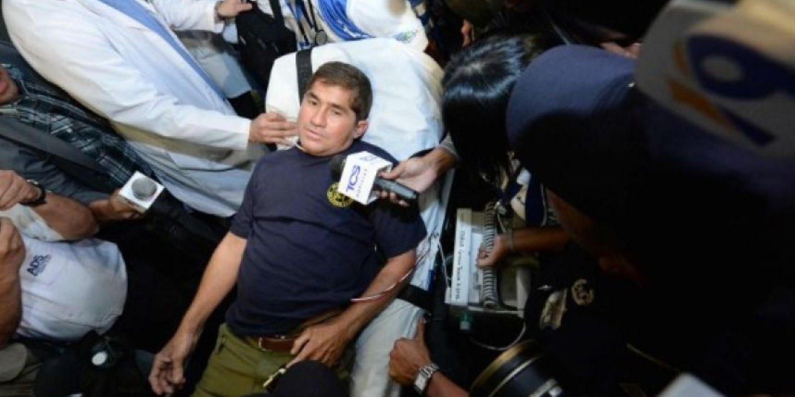 """Fue diagnosticado con """"talasofobia"""" (miedo al mar) Foto:AFP"""