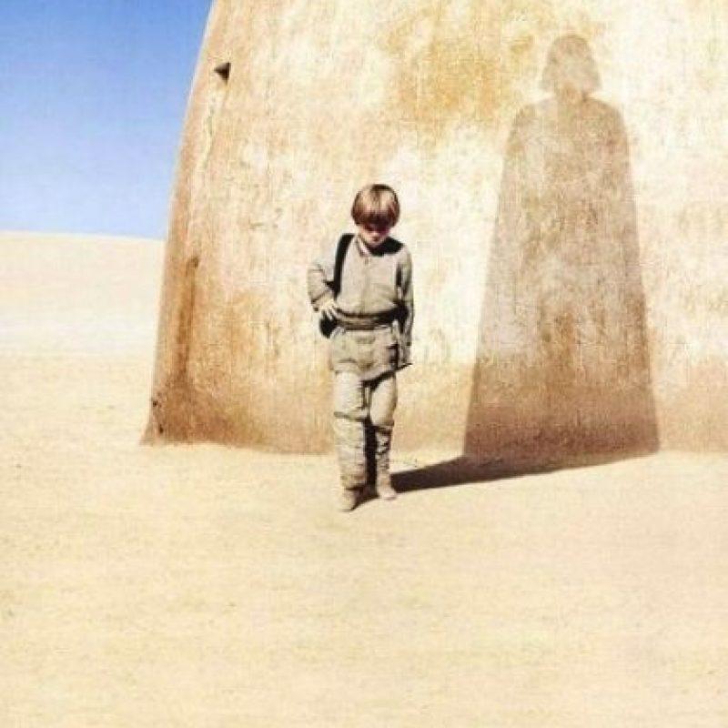 """Quien se convertiría en """"Darth Vader"""", el villano de esta historia de ciencia ficción Foto:IMDB"""