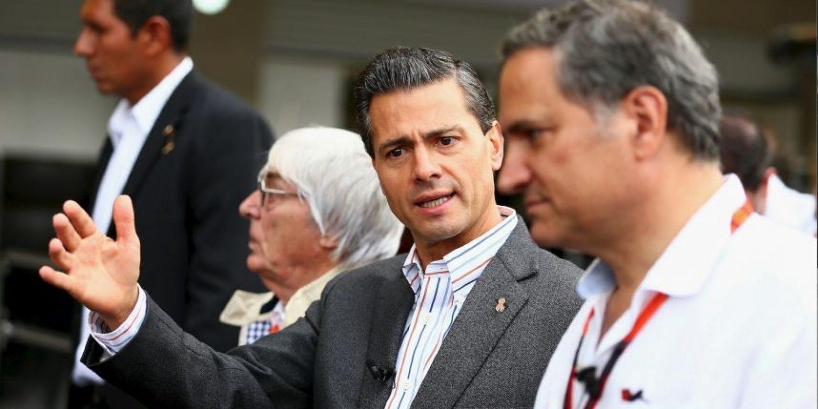 Enrique Peña Nieto, en 2015 Foto:Getty Images