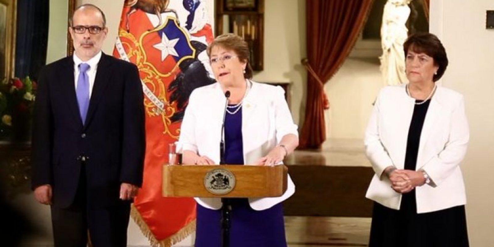 Michelle Bachelet, 2015. Su segundo mandato presidencial inició en 2014. Foto:Twitter.com/GobiernodeChile