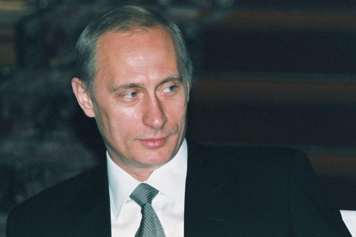 Vladimir Putin, año 2000, durante su primera presidencia Foto:Getty Images