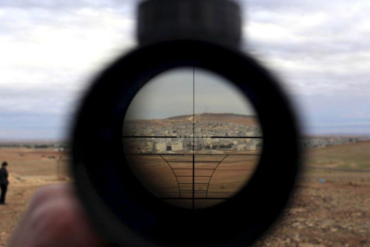 Desde hace dos semanas el ejército británico conocía los yihadistas se escondían en una fábrica de explosivos. Foto:Getty Images