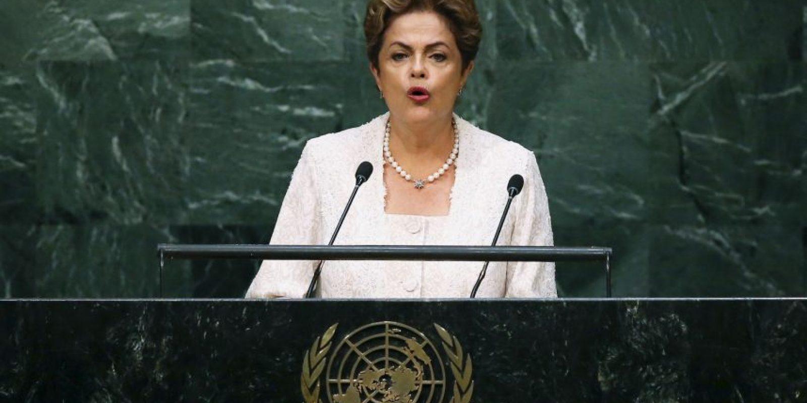 Dilma Roussef en 2015 Foto:Getty Images