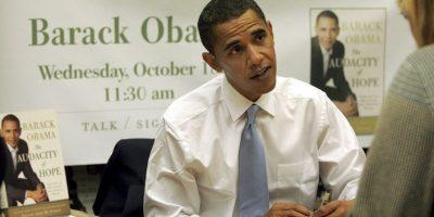 Barack Obama, 2008, rumbo a su primer año como presidente Foto:Getty Images