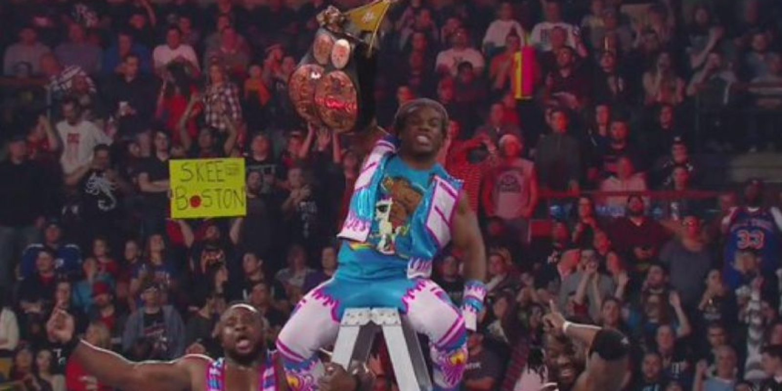 Al final, Kofi Kingston dio el título a The New Day Foto: WWE